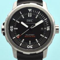 IWC Titanium Automatic Black No numerals 42mm new Aquatimer Automatic 2000