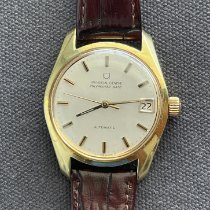 Universal Genève Polerouter Gold/Steel 35mm Silver No numerals United States of America, New Jersey, Vineland