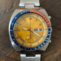 Seiko Steel 41mm Orange No numerals United States of America, Virginia, Yorktown
