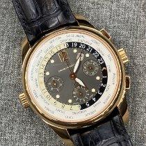 Girard Perregaux WW.TC 49800-52-521 Foarte bună Aur roz 43mm Atomat
