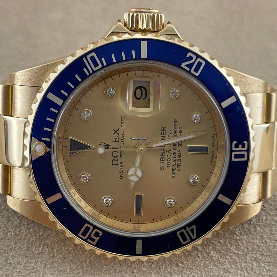 Rolex Submariner Date 16618 2007 usato
