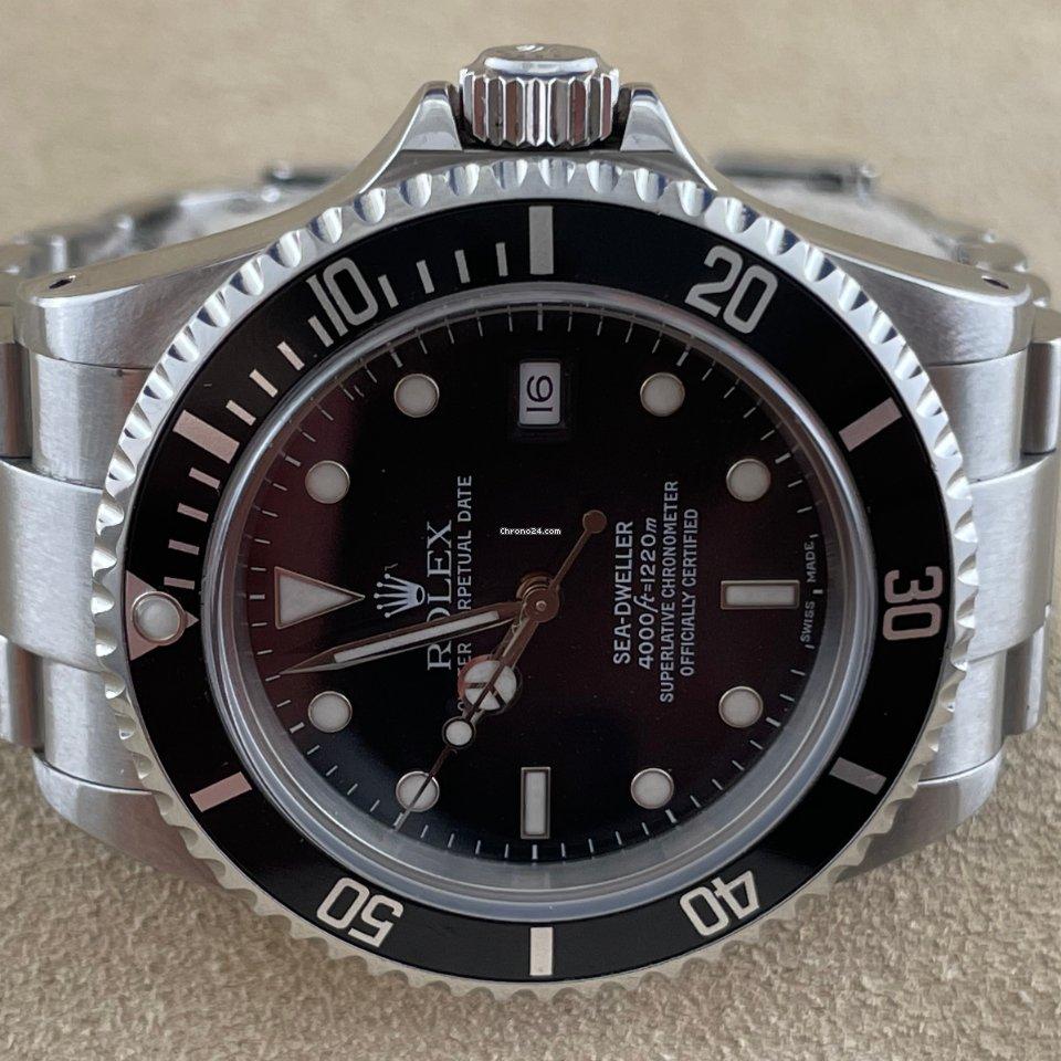 Rolex Sea-Dweller 4000 16600 2000 usato