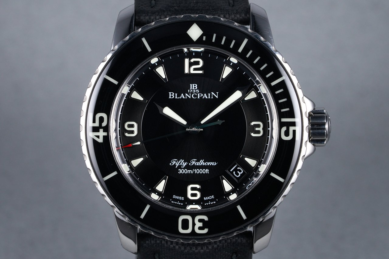 Blancpain Fifty Fathoms 5015-1130-52 2014 pre-owned