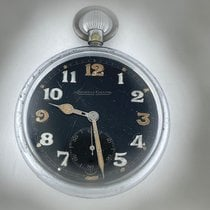 Jaeger-LeCoultre Watch pre-owned 1940 Steel 52mm Arabic numerals Manual winding Watch only