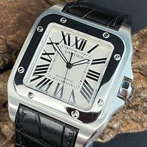 Cartier Santos 100 Stahl 41mm Silber Deutschland, München