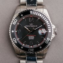 Philip Watch Steel 51mm Automatic R8223107125 pre-owned