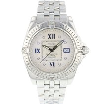 Breitling Galactic 32 Steel 32mm Silver