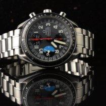 Omega Speedmaster Day Date Steel 39mm Grey Arabic numerals