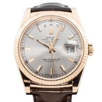 Rolex Day-Date 36 Rose gold 36mm Silver No numerals Singapore, Singapore