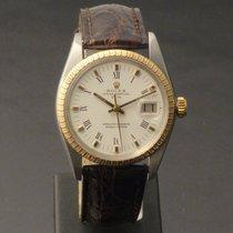Rolex Oyster Perpetual Date Oro/Acciaio 34mm Bianco Romani Italia, Parma