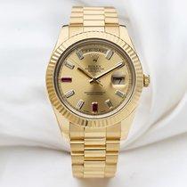 Rolex Day-Date II Oro amarillo 41mm