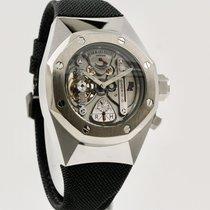 Audemars Piguet Aluminum Manual winding Silver No numerals 44mm pre-owned Royal Oak Concept