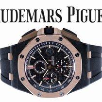 Audemars Piguet Koolstof Automatisch Zwart 44mm tweedehands Royal Oak Offshore Chronograph