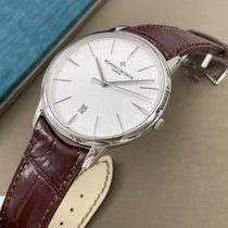 Vacheron Constantin White gold 40mm Automatic 85180/000G-9230 pre-owned