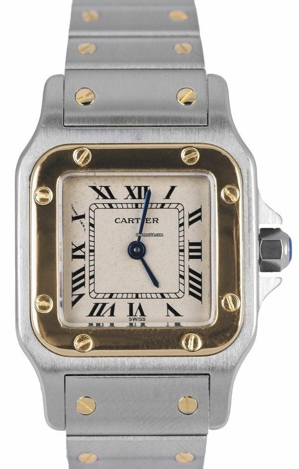 Cartier Santos Galbée 1057930 pre-owned