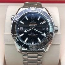 Omega Seamaster Planet Ocean Staal 39.5mm Zwart Arabisch