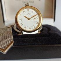Oris Watch new 1998 Steel 38mm Roman numerals Manual winding Watch with original box