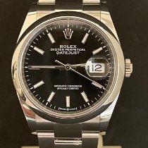 Rolex Datejust Acciaio 36mm Nero Senza numeri Italia, milano