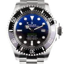 Rolex Sea-Dweller Deepsea Stahl 44mm Blau Keine Ziffern Schweiz, Zürich