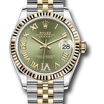 Rolex Datejust Acero 31mm Verde Romanos