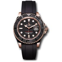 Rolex Yacht-Master 37 Rose gold 37mm Black No numerals United States of America, New York, New York