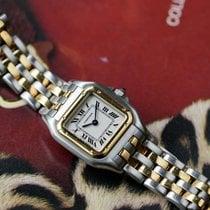 Cartier Gold/Steel 22mm Quartz 112000-R pre-owned