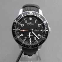 Fortis B-42 Official Cosmonauts Steel 22mm Black Arabic numerals