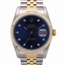 Rolex 16233 Gold/Steel 1989 Datejust 36mm pre-owned