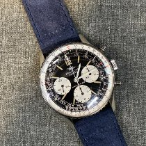 Breitling Steel Manual winding Black Arabic numerals 41mm pre-owned Navitimer