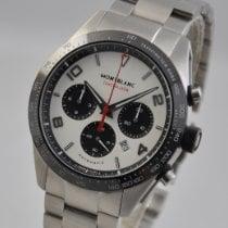 Montblanc Timewalker Steel 43mm White Arabic numerals United States of America, Ohio, Mason