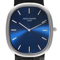 Patek Philippe Golden Ellipse Platinum 34.5mm Blue United States of America, Georgia, Atlanta