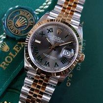 Rolex ny Automatisk 36mm Guld/Stål Safirglas