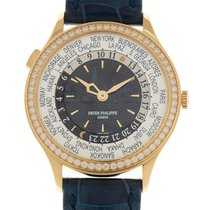Patek Philippe Rose gold Automatic Blue 36mm new World Time