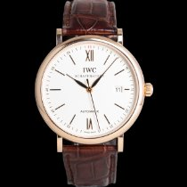 IWC Rose gold 40mm Automatic 3565 pre-owned