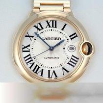 Cartier Ballon Bleu 42mm подержанные 42mm Cеребро Дата Желтое золото
