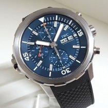 IWC Aquatimer Chronograph Otel 44mm Albastru
