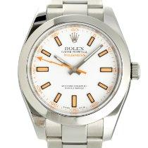 Rolex Milgauss Acero 40mm Blanco