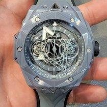 Hublot Ceramic Automatic Grey No numerals 45mm new Big Bang Sang Bleu