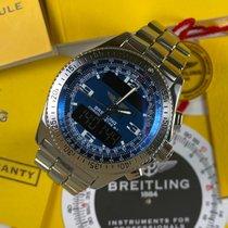 Breitling B-1 Acero 42mm Azul Arábigos