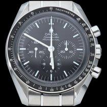 Omega Speedmaster Professional Moonwatch tweedehands 42mm Zwart Chronograaf Staal