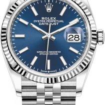 Rolex Datejust Steel 36mm Blue No numerals United States of America, New York, New York