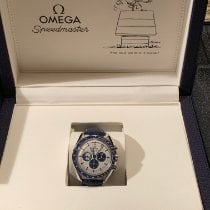 Omega Speedmaster Steel 42mm Silver No numerals
