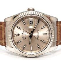 Rolex Datejust White gold 36mm Pink No numerals United Kingdom, London
