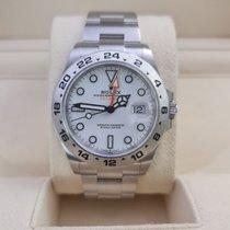 Rolex Explorer II Stål 42mm Hvid Ingen tal