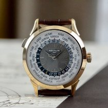 Patek Philippe World Time Rose gold 38.5mm Grey Arabic numerals United States of America, Texas, Houston