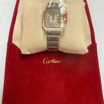 Cartier Santos Galbée 1567 Muy bueno Acero y oro 24mm Cuarzo México, Ciudad de México