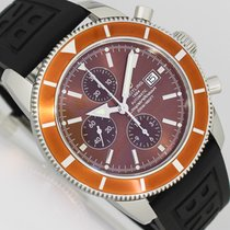 Breitling Superocean Heritage Chronograph Acero 46mm Bronce Sin cifras