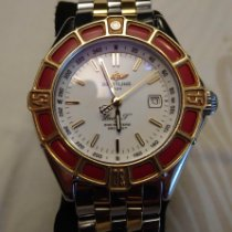 Breitling Lady J Staal 31mm Wit Geen cijfers