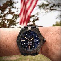 Breitling Avenger Blackbird Titanium 48mm Black No numerals United States of America, Virginia, Fairfax
