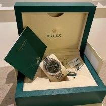 Rolex Day-Date 40 Vitguld 40mm Grön Romerska Sverige, Stockholm